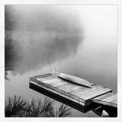 La canoa i el llac