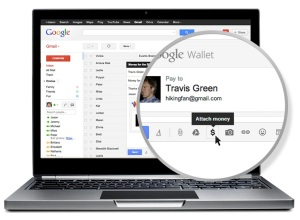 Google Wallet send money email