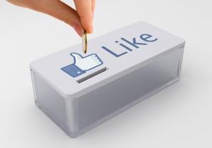 Facebook pagar per Like