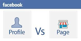 Profile vs Page